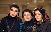 سه خانم بازیگر در یک قاب + عکس