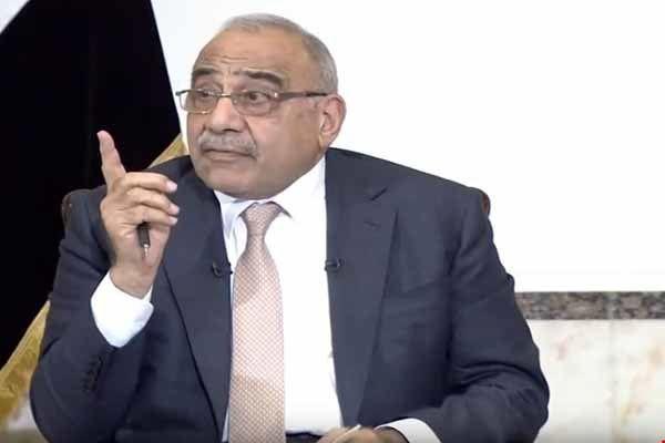 عبدالمهدی: عراق محلی برای تجاوز به کشور دیگر نخواهد بود
