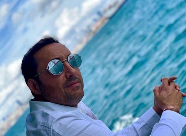 تفریحات دریایی امیرحسین رستمی + عکس