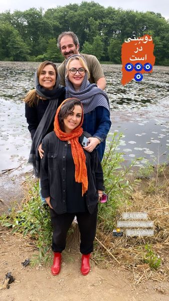 شیوا ابراهیمی و دوستانش در گردش + عکس