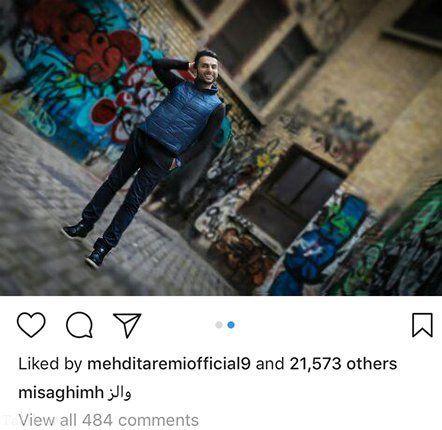 عکس محمد حسین میثاقی در خارج از کشور
