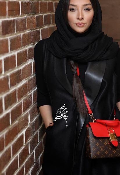 همسر اشکان خطیبی در اکران چشم و گوش بسته+عکس