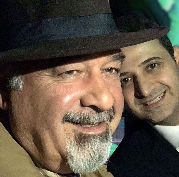 سعید شیخ زاده و پدرش + عکس