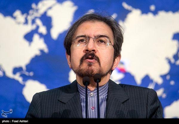 واکنش سخنگوی وزارت خارجه به بیانیه کمیته چهارجانبه اتحادیه عرب