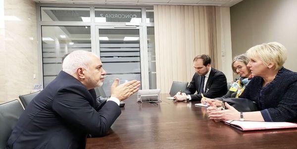 وزیر امور خارجه کشورمان با همتای سوئدی دیدار کرد
