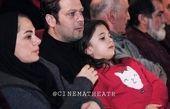 ظاهر متفاوت پژمان بازغی در کنار خانواده اش+عکس