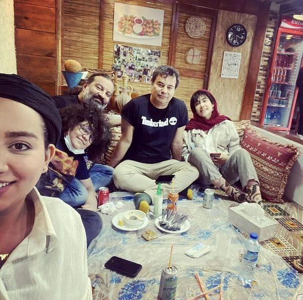 دورهمی خانوادگی برادران قاسم خانی + عکس