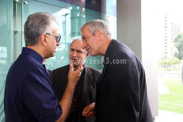 جلسه ی محرمانه ی تاج و کفاشیان با شیخ سلمان