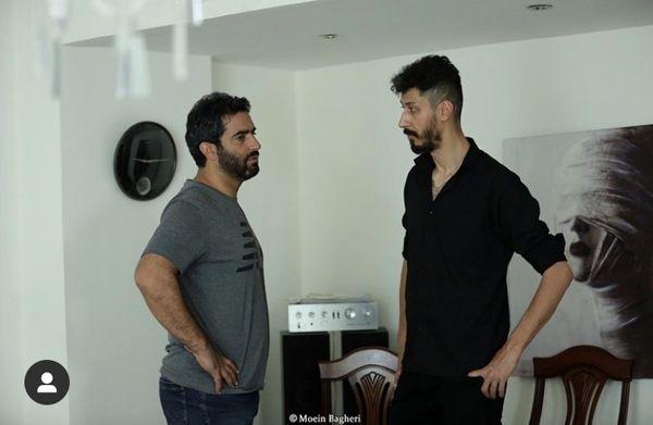 همکاری بهرام افشاری با کارگردان مشهور سینما + عکس