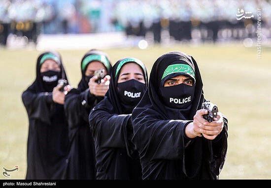 تصویر متفاوت از زنان پلیس