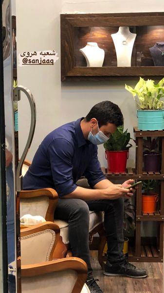 حضور شاهرخ استخری در یکی از فروشگاه های سنجاق + عکس