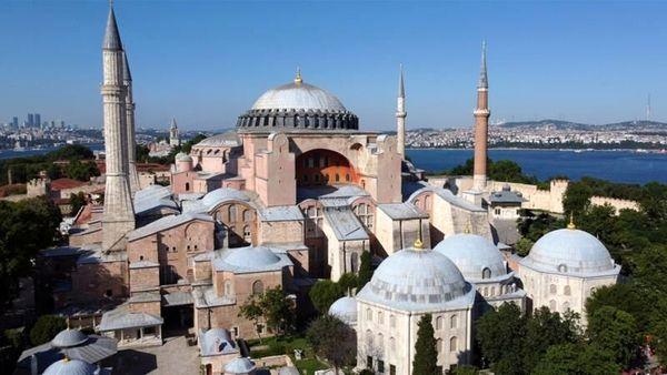 شورای شهر استانبول تغییر کاربری ایاصوفیه را تصویب کرد