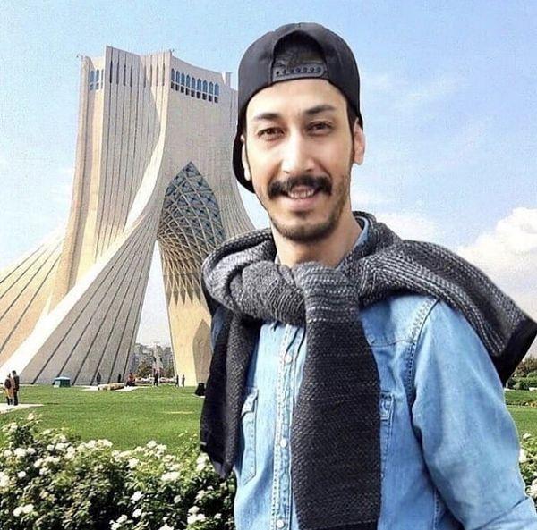 بهرام افشاری در میدان آزادی + عکس
