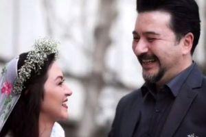 عکس جدید از مراسم ازدواج امیرحسین صدیق و همسرش باران خوش اندام