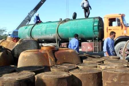 بیش از یک میلیون لیتر سوخت قاچاق در کردستان