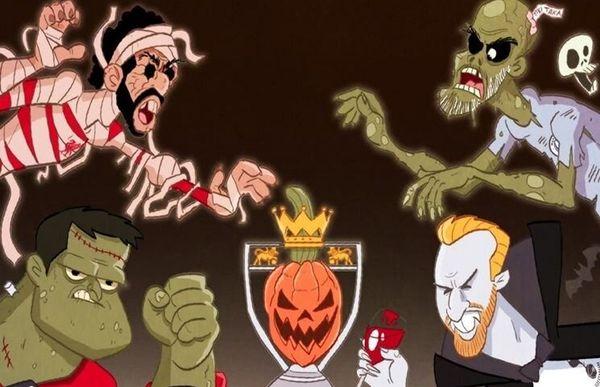 زامبیهای لیگ جزیره/ کاریکاتور