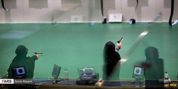 آخرین رنکینگ تیراندازان ایران اعلام شد