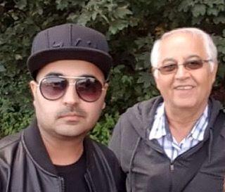 عکس خواننده محبوب و جوان مرحوم شده و پدرش