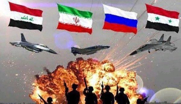 توافق ایران، روسیه، عراق و سوریه علیه داعش