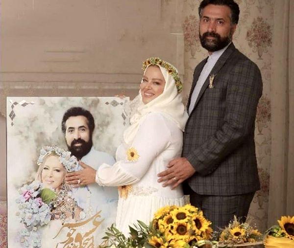 عاشقانه های بهاره رهنما و همسرش + عکس