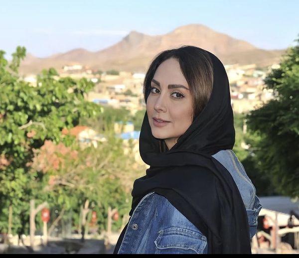 عکس جدید مریم خدارحمی در هوای بهاری