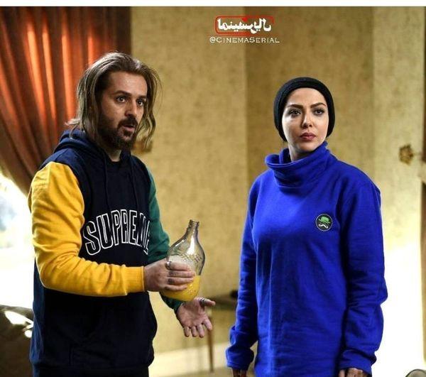 لیلا اوتادی و احمد مهرانفر در کاتیوشا+عکس