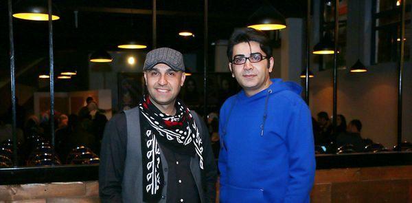 فرزاد حسنی و نیما رئیسی در کنار هم + عکس