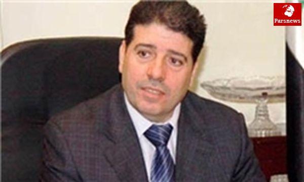 شرکت نخستوزیر سوریه در مراسم تحلیف روحانی