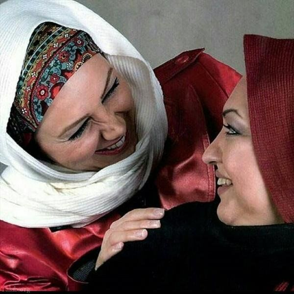 خوشحالی بهنوش بختیاری در کنار خواهرش+عکس