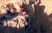 عمامه طلبه یک نفر را نجات داد !