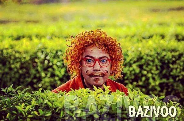 موهای نارنجی رنگ محمدرضا هدایتی + عکس