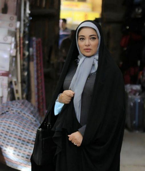 چادری شدن رزیتا غفاری + عکس