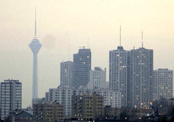 سلام دوباره آلودگی هوا به مردم پایتخت