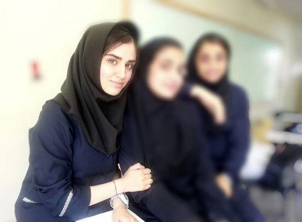 نوجوانی هانیه غلامی در مدرسه + عکس