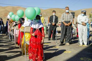 نخستین روز سال تحصیلی در مدرسه روستایی کردستان