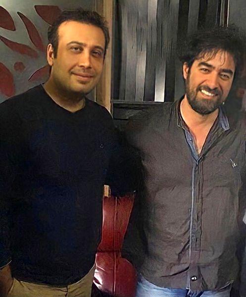 محسن چاوشی در کنار بازیگر جنجالی /عکس