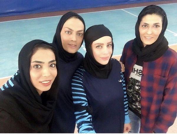 شراره رخام در بین زنان قهرمان + عکس