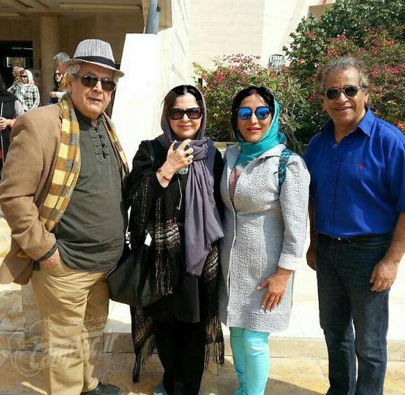 گردش خانوادگی اصغر همت و رضا فیاضی+عکس