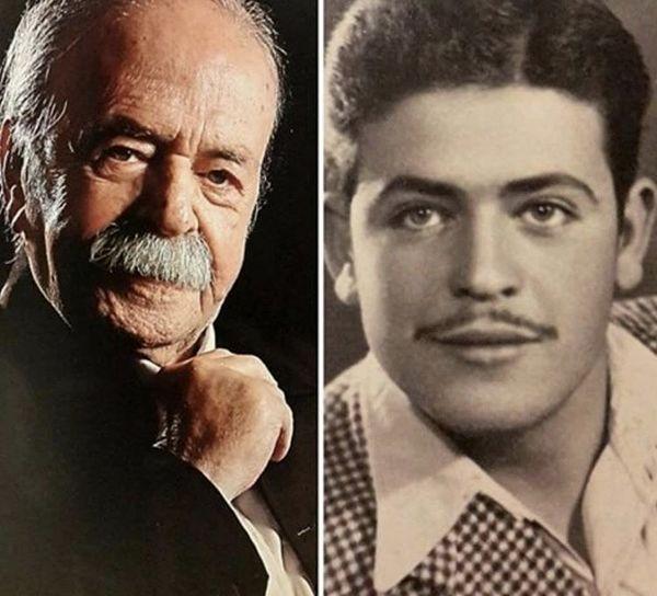 مرحوم محمدعلی کشاورز از گذشته تا به امروز + عکس