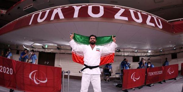 طلای جودوکار کم بینای ایران در پارالمپیک توکیو