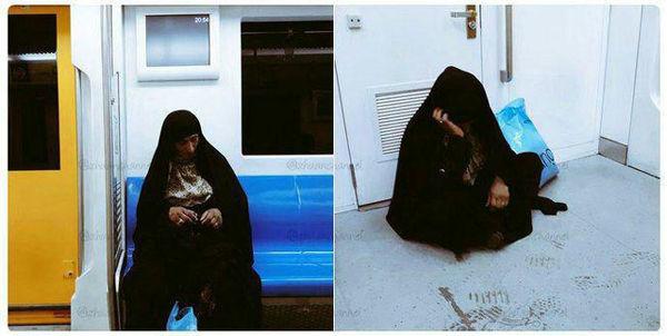 ماجرای جنجالی یک افغان در متروی تهران