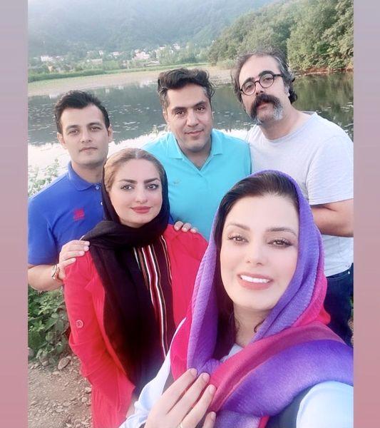 گردش و تفریح صبا راد و همسرش پس از بازگشت از ترکیه + عکس