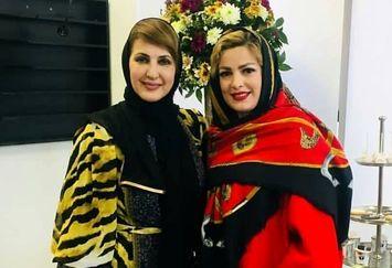 مراسم افتتاحیه سالن زیبایی فاطمه گودرزی با حضور هنرمندان