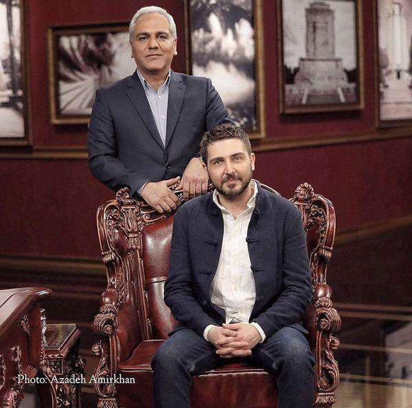 میهمانچشمرنگی مهران مدیری + عکس