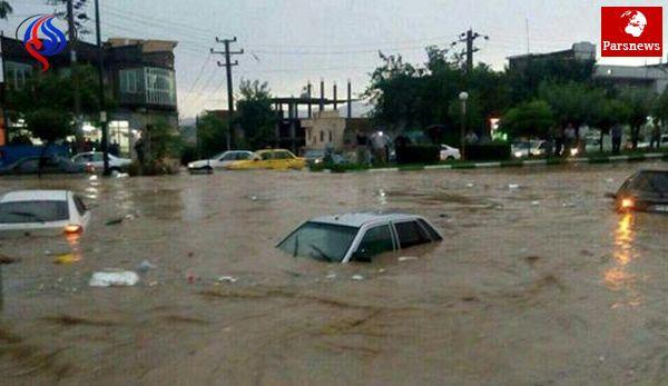 سیل به 11 استان آسیب رسانید