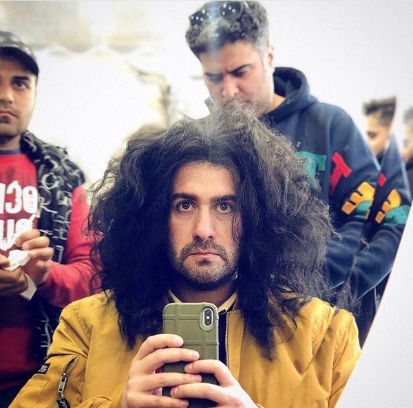 مدل موی عجیب نیمای خندوانه + عکس
