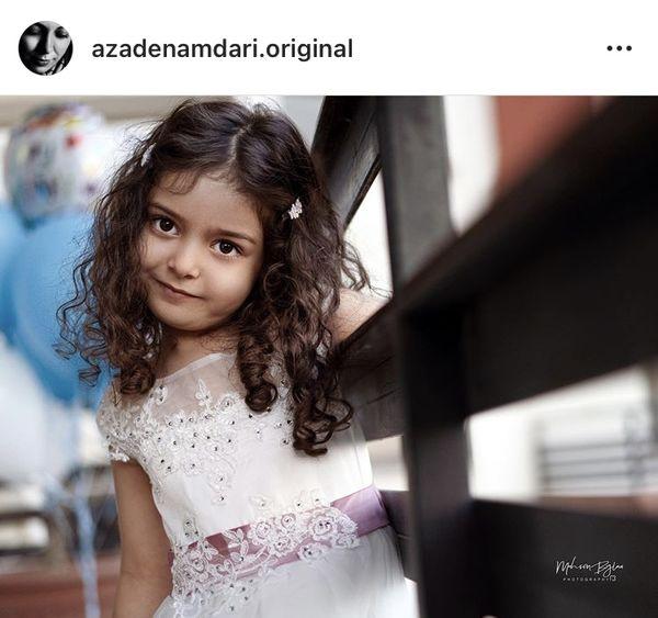 دختر کوچولوی آزاده نامداری + عکس