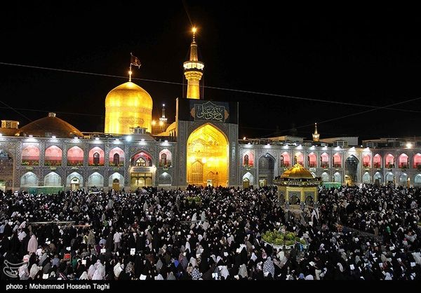مراسم عزاداری  شهادت امام حسن عسکری(ع)  در حرم مطهر رضوی برگزار میشود