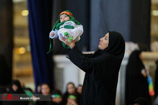 اجتماع میلیونی شیرخوارگان حسینی