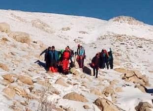 مرگ کوهنورد شیرازی در برم فیروز